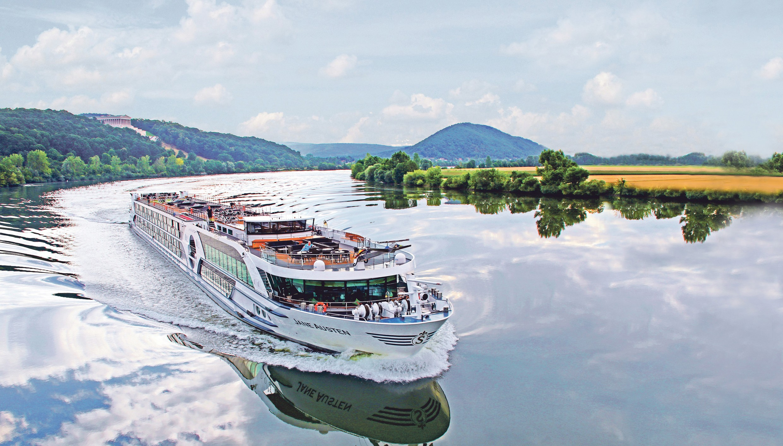 Riviera Travel ship on the Danube