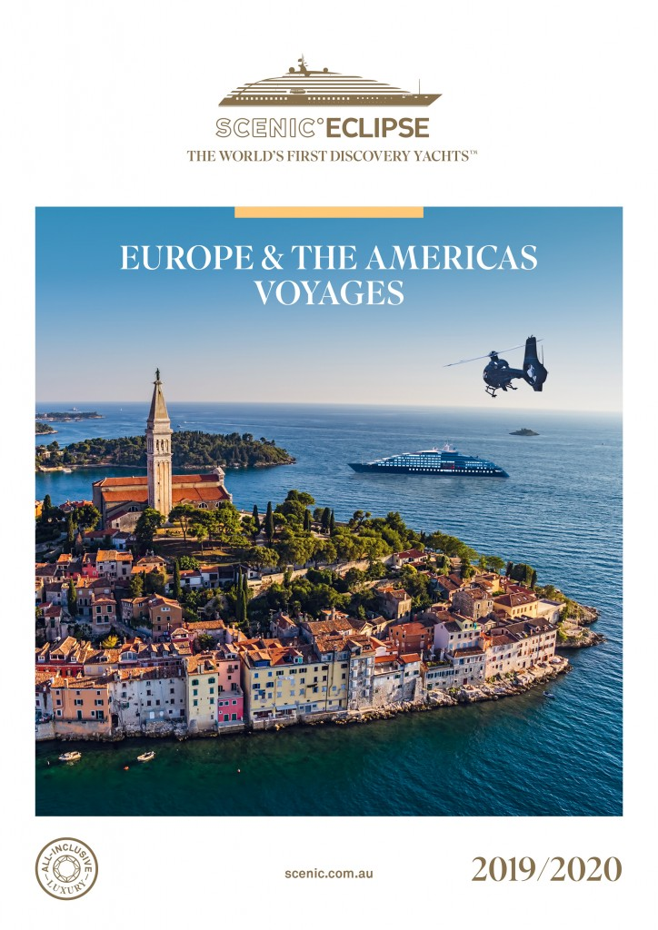 Scenic Eclipse Europe & The Americas 2019-20 Cover