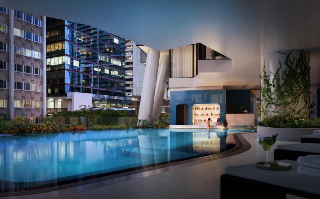 Westin Pool Deck