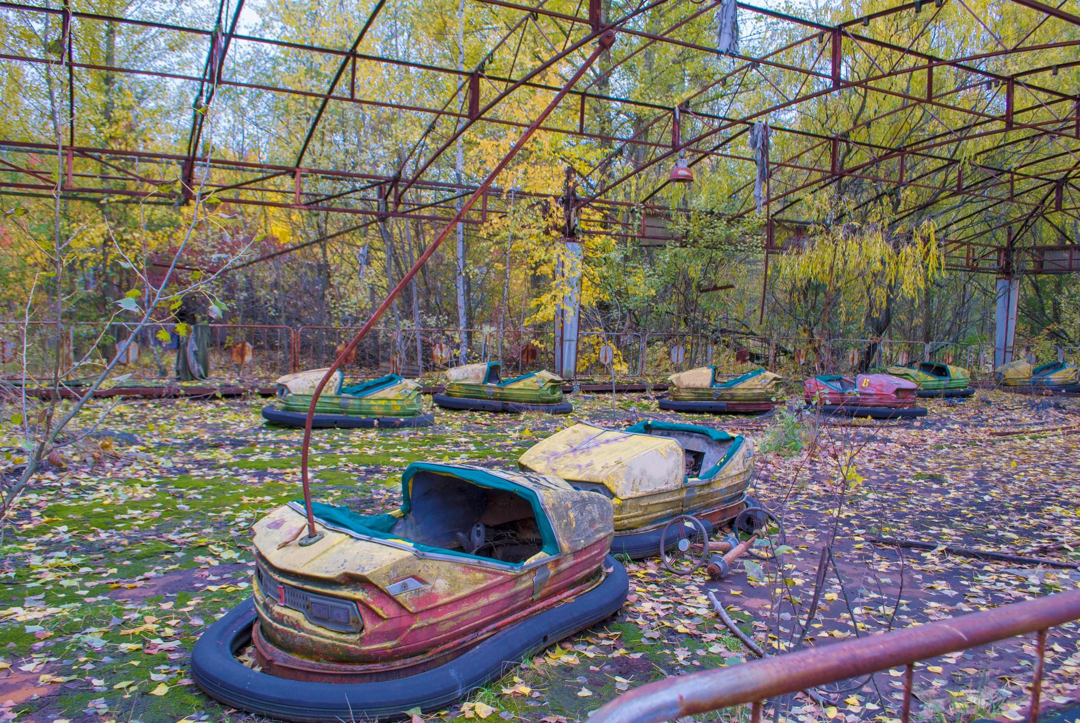 Autodrome in Pripyat