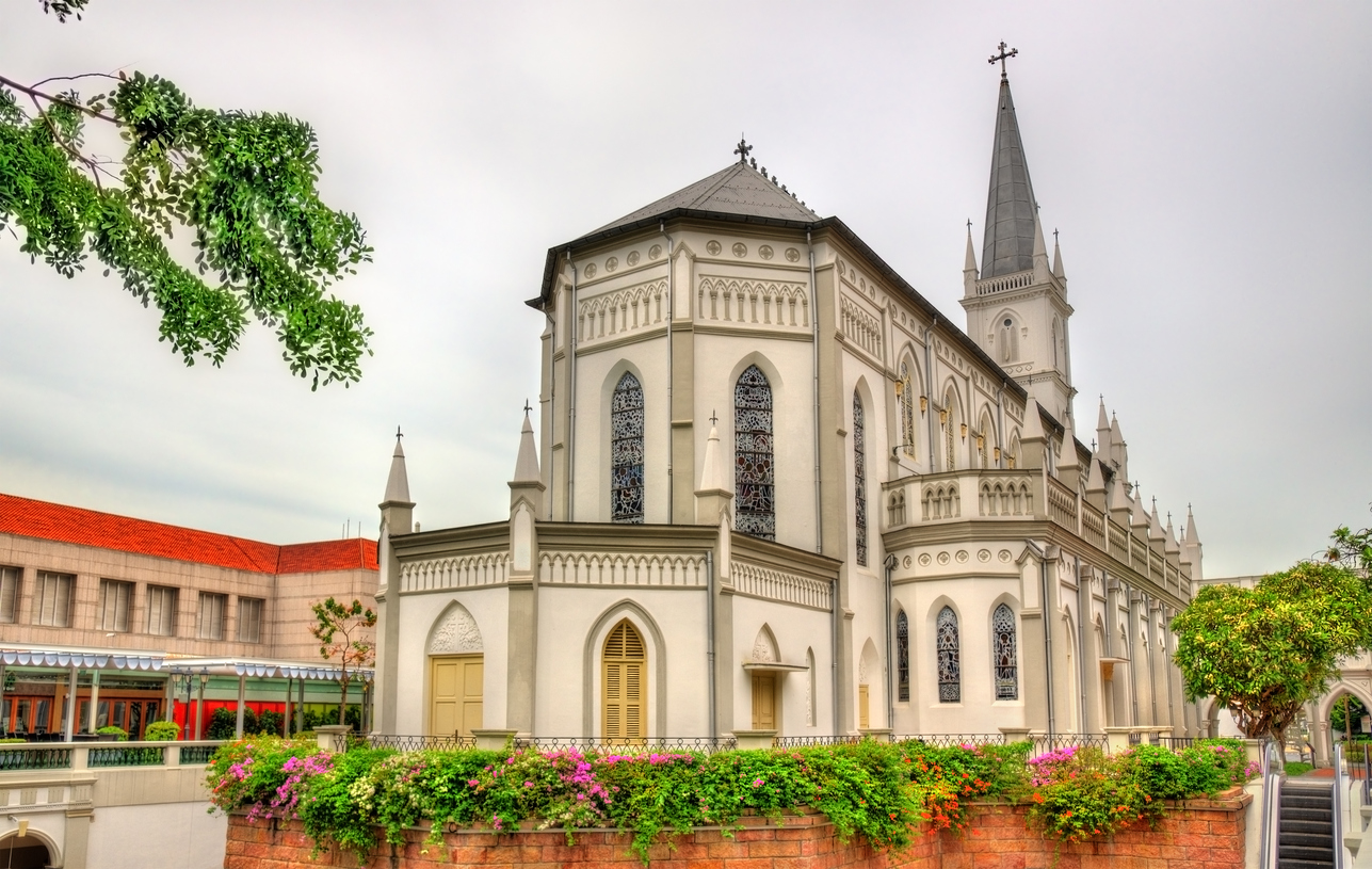 CHIJMES Hall, previously Convent of the Holy Infant Jesus - Singapore