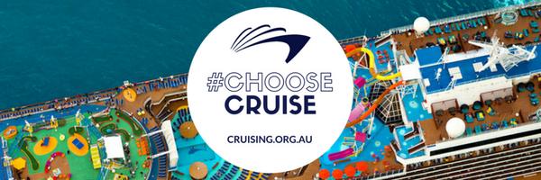 Choose Cruise banner ship