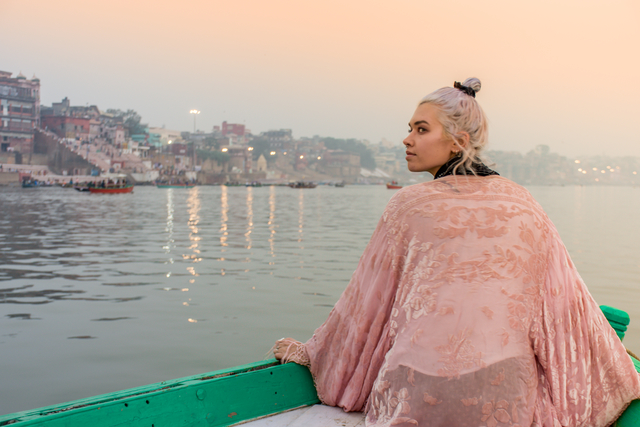 Intrepid Travel-india_varanasi_traveller-on-boat-ganges