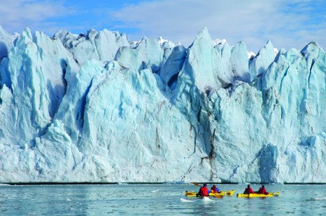 Kayak excursion, Svalbard