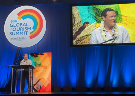 Stephen England-Hall (2018 Global Tourism Summit)
