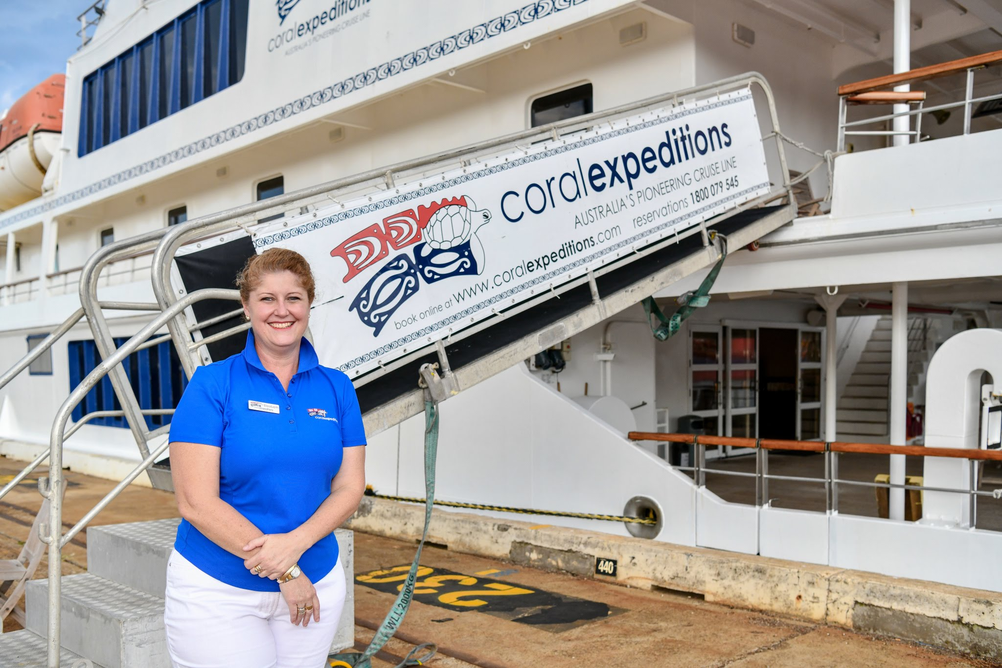 Elizabeth Webb_International Sales Manager Coral Expeditions