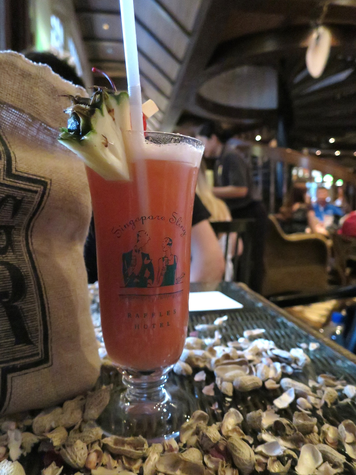 SAMPLE THE SINGAPORE SLING WITH A BOARDING PASS 1