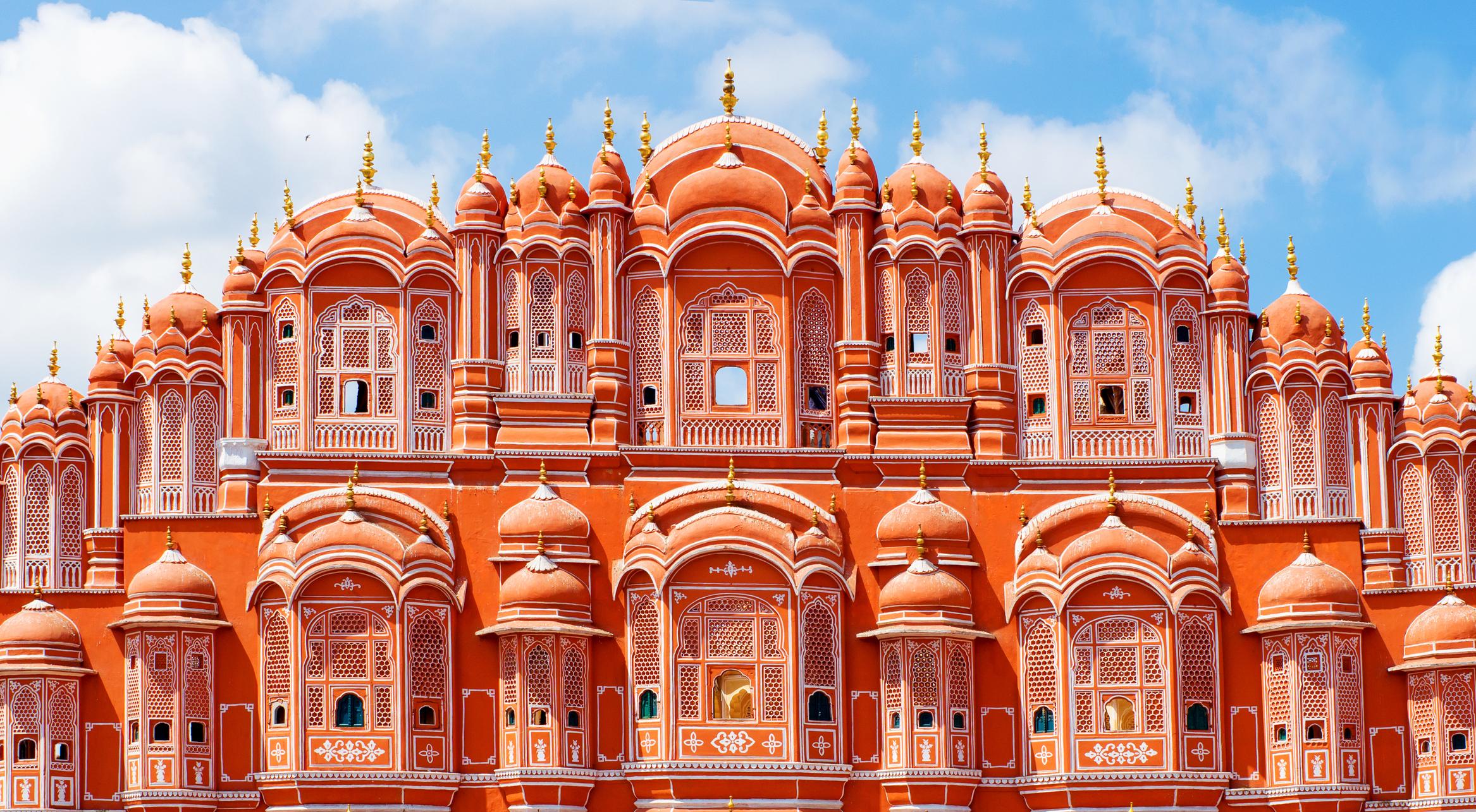 Hawa Mahal palace in Jaipur, Rajasthan