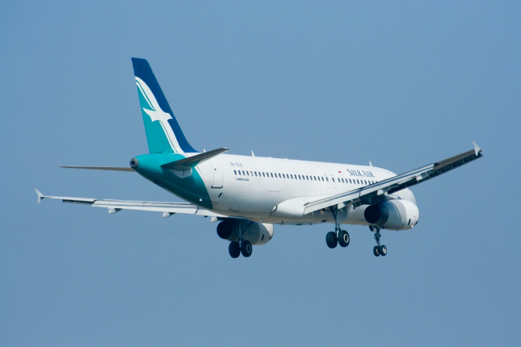 9V-SLE Airbus A320-200 of Silkair