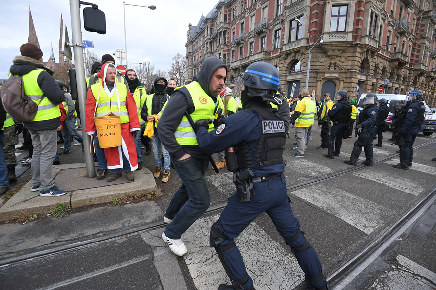(Photo by PATRICK HERTZOG / AFP)