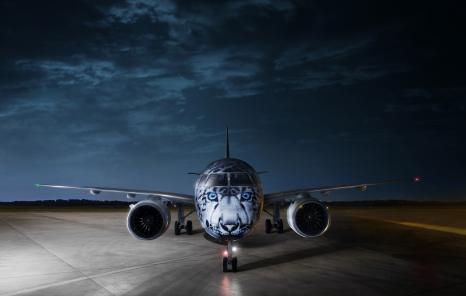 AIR ASTANA EMBRAER E190-E2 - SNOW LEOPARD