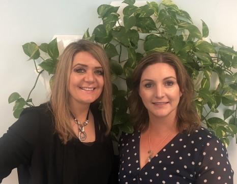 Belinda Peddie and Alisa Wilson TMS Talent - Press