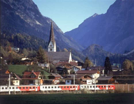 CityShuttle bei Pfarrwerfen - Westbahn