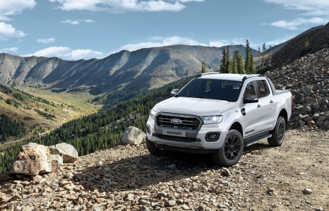 Ford Ranger Wildtrak in White in Low Res