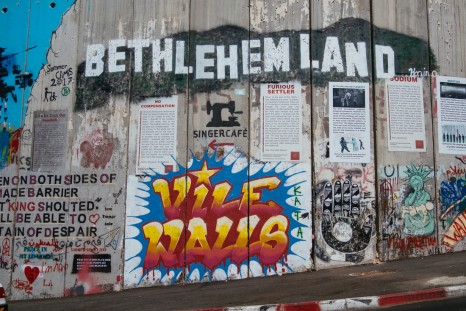 Intrepid Travel-Israel_Bethlehem_Wall Art_1