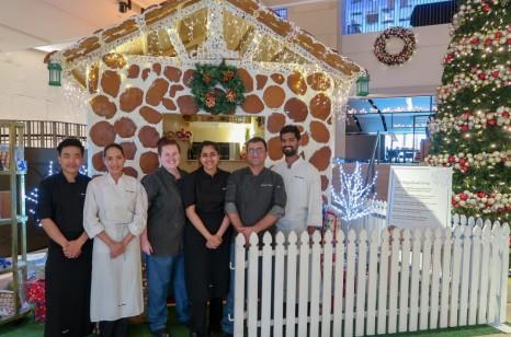Pastry Chef Prashant Anand & Team