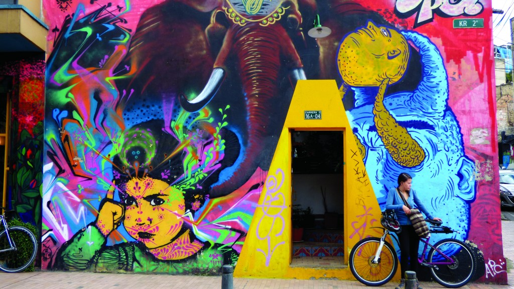 Vibrant street art in Colombia-_South_America