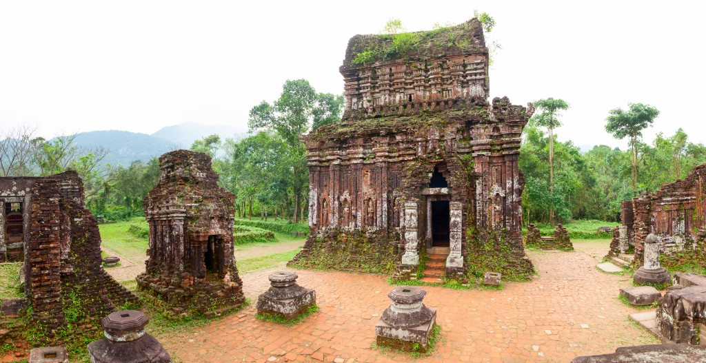 My Son Hindu temples panorama
