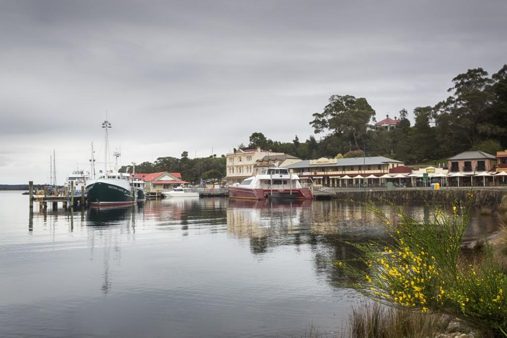 Strahan Port Tasmania