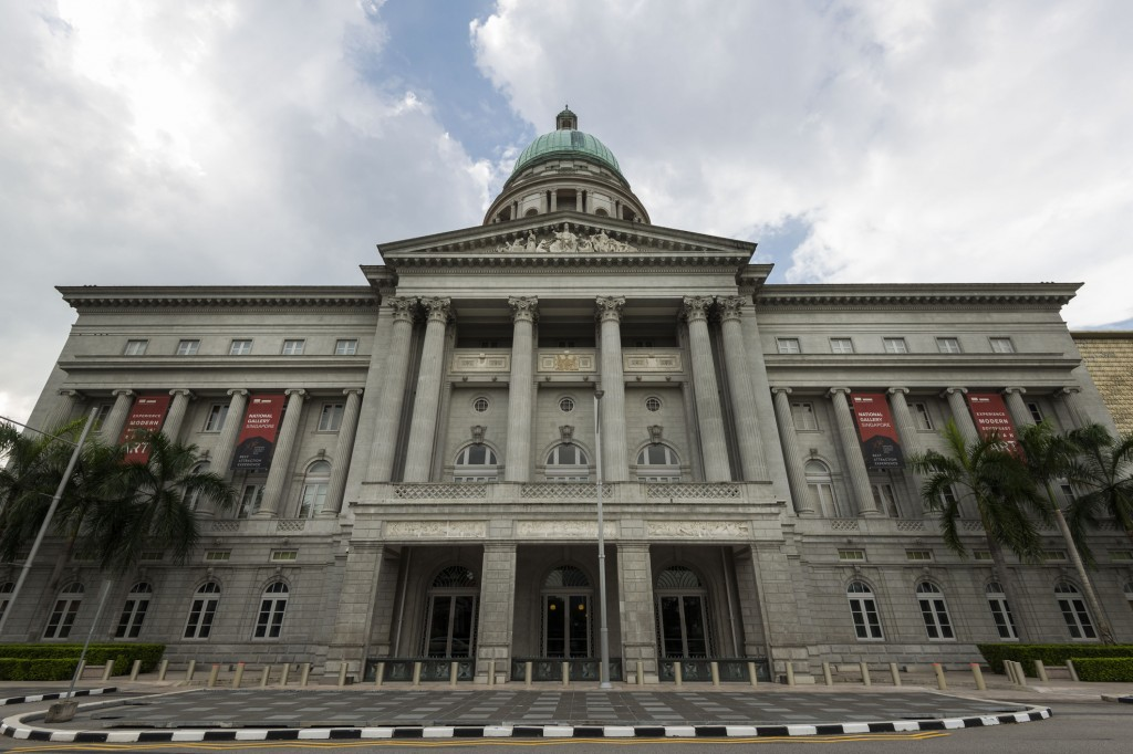 National Gallery Singapore, former Singapore's Supreme Court
