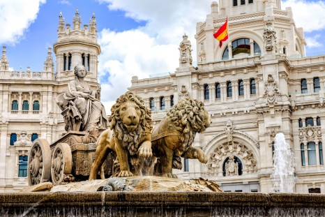 iStock - Cibelese Square, Madrid
