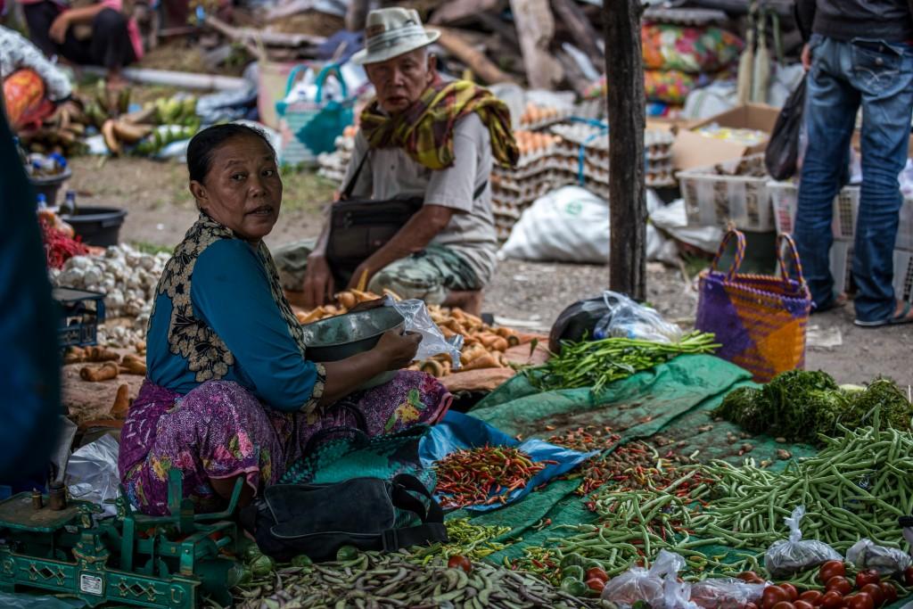 Local Lombok market