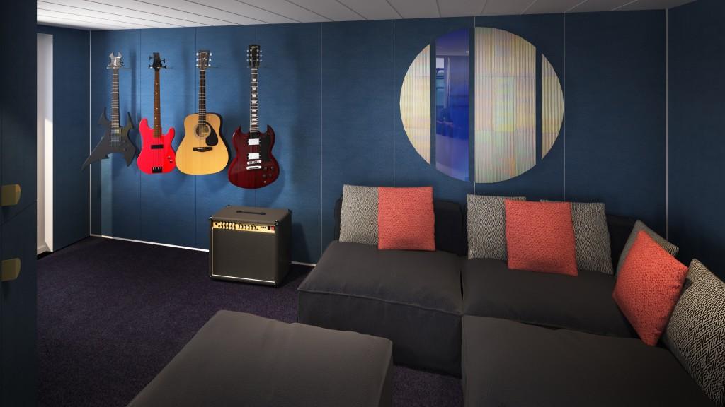 Massive Suite Music Room