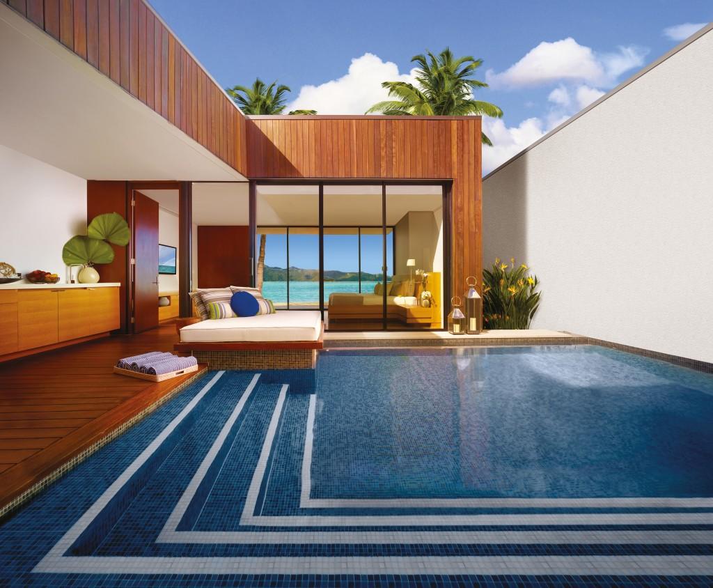 Beach Villa with Pool. - Hayman Island by InterContinental