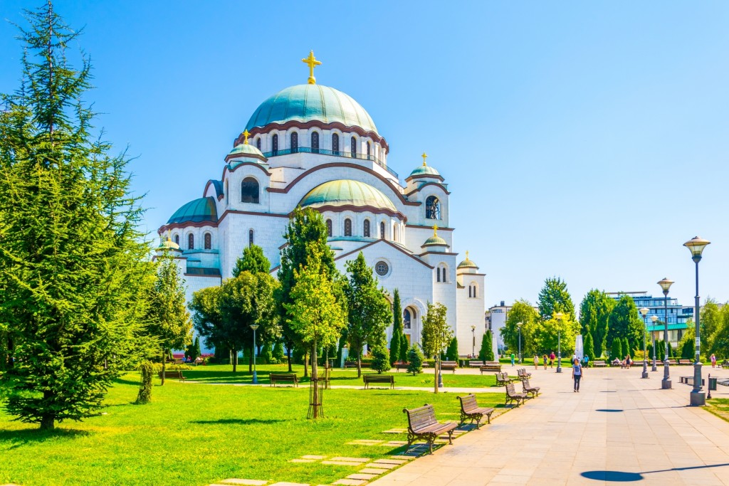 Belgrade Sant Sava Cathedral