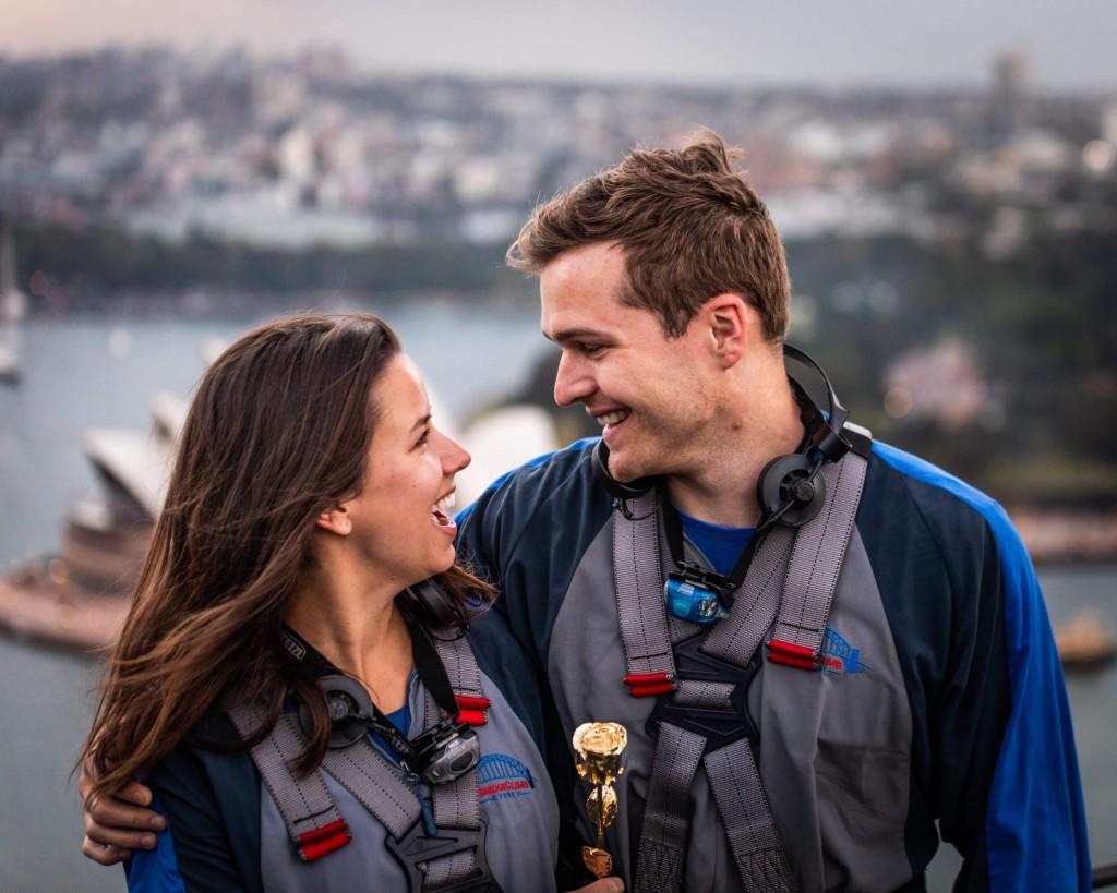 BridgeClimb Valentines Day Dawn Climb 2019 Couple 1
