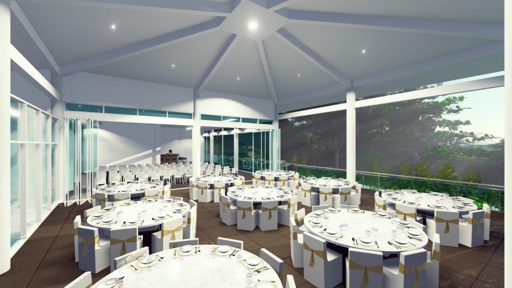 Daydream Island Resort - Eclipse Terrace & Room ARTISTS IMPRESSION