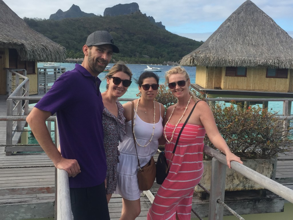 Entire 2_Tahiti Travel Connection staff explore Bora Bora Pearl on an Entire Travel Group self-famil