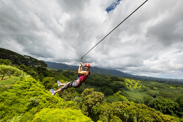 Kauai-zipline