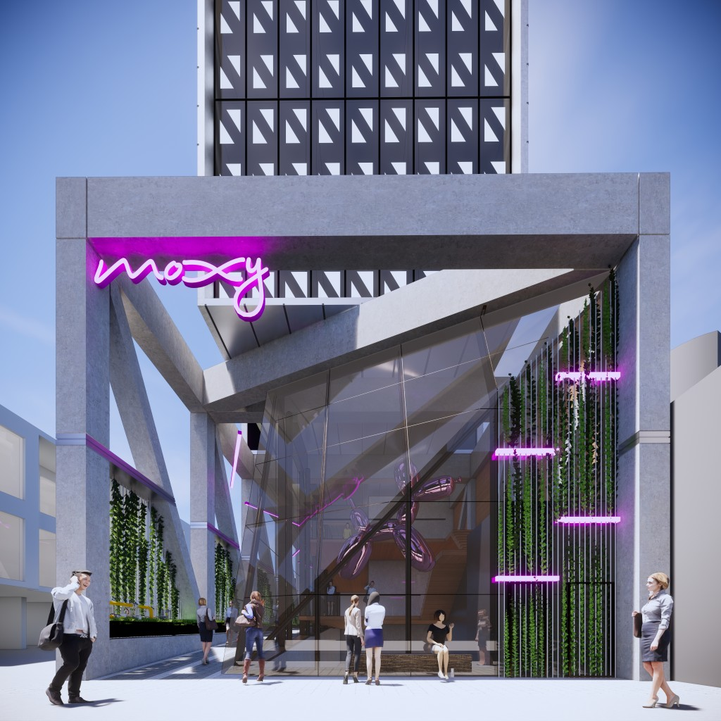 Moxy Melbourne South Yarra Render 1