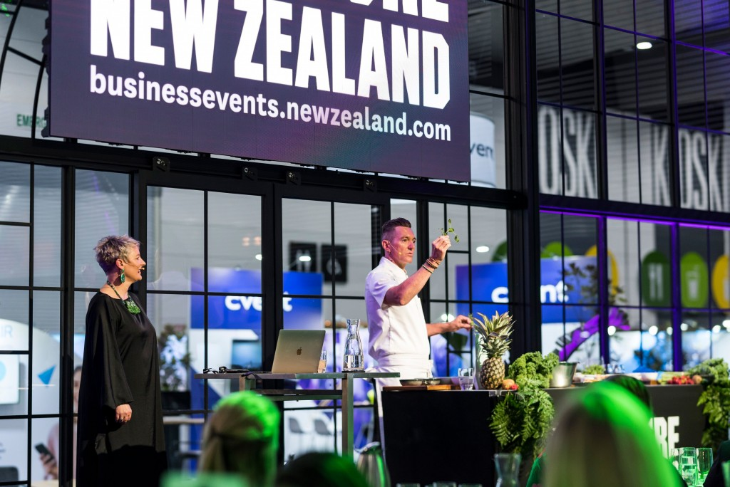 Tourism New Zealand breakfast (AIME 2019) [2]