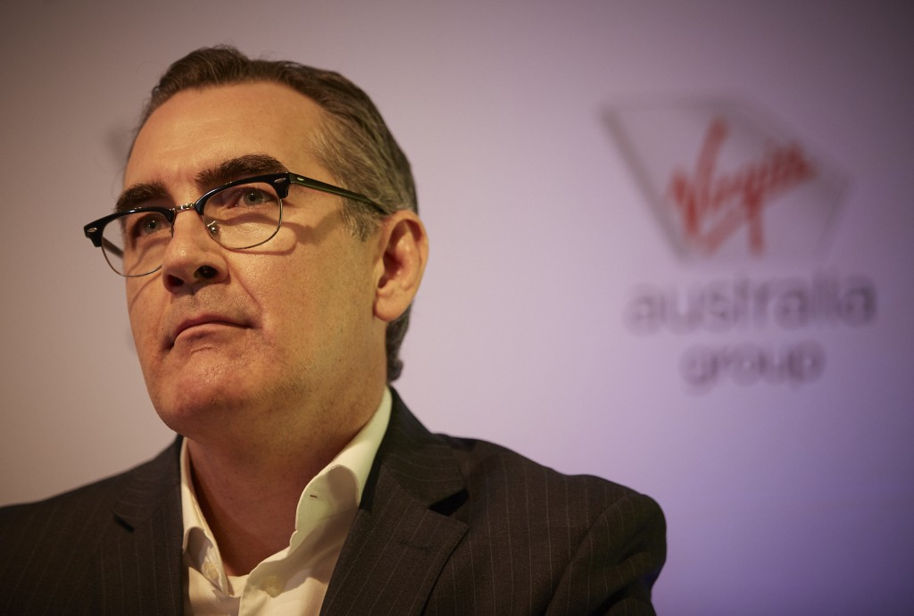 Virgin Australia chief executive Paul Scurrah says airports have ...