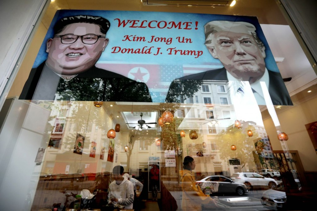 Hanoi is preparing for the second summit between President Trump and North Korean leader Kim Jong Un. PHOTO: LUONG THAI LINH/SHUTTERSTOCK