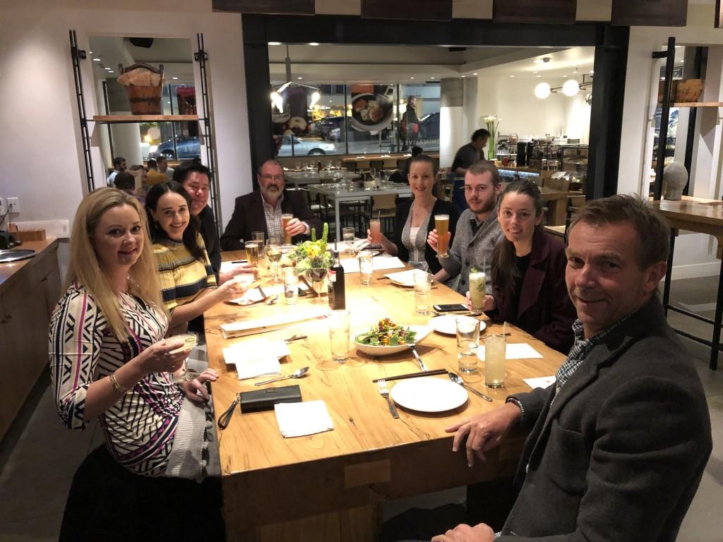 2. Enjoying one of many fine dining experiences.