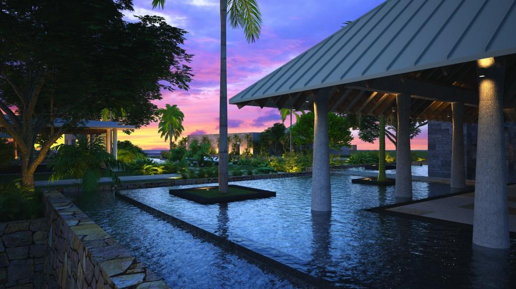 Anantara Mauritius exterior rendering