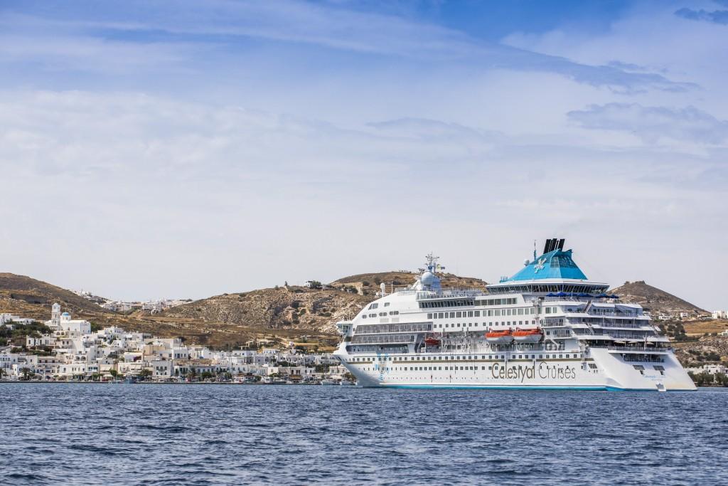 Celestyal Cruises in Milos