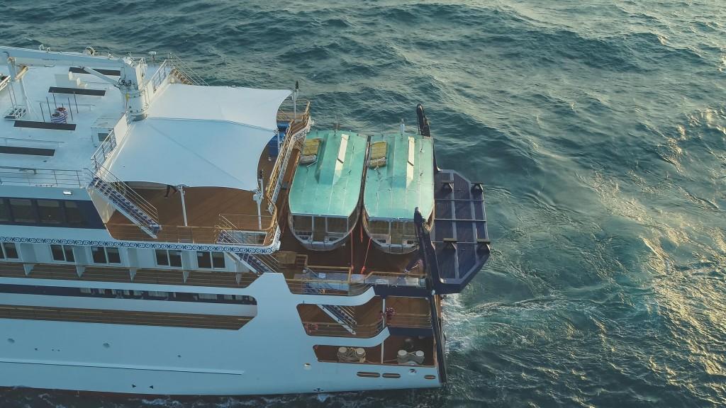 Coral Adventurer sea trials Xplorer Feb 2019 low res
