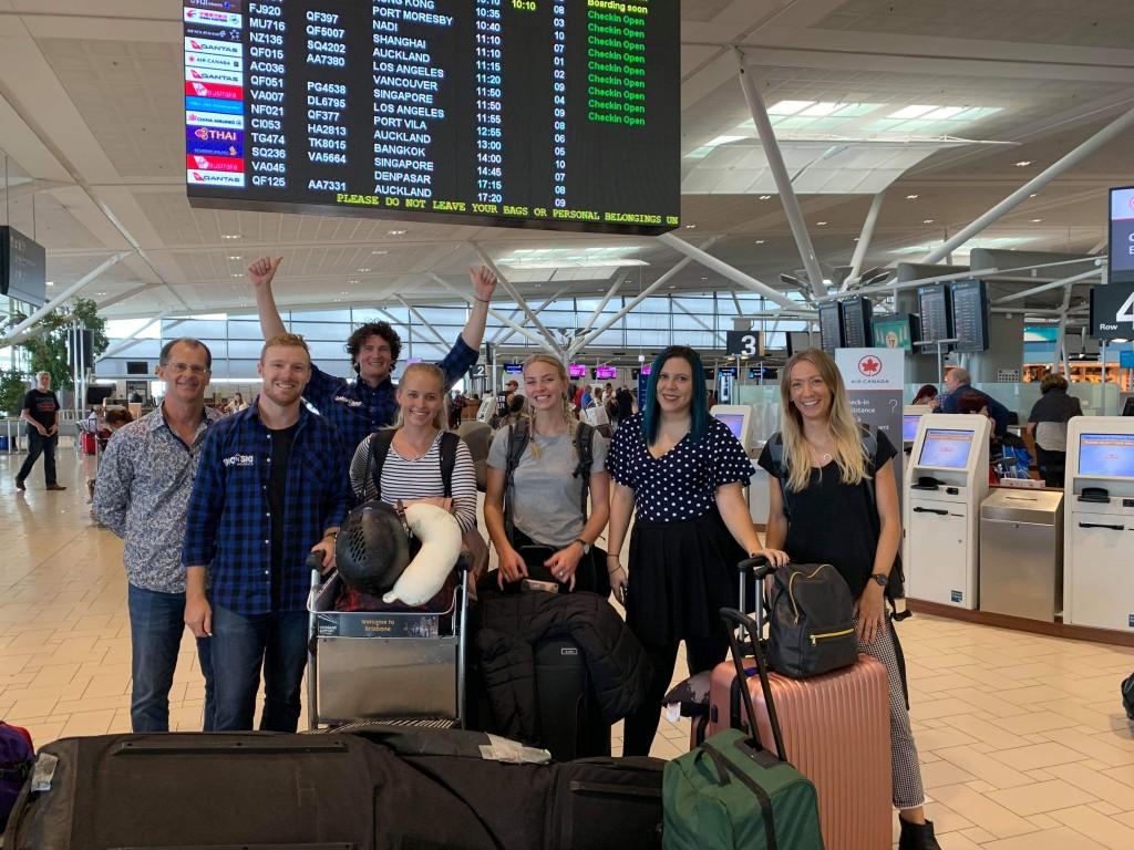 Departure Photo BNE SnonSki Mega Fam 2019