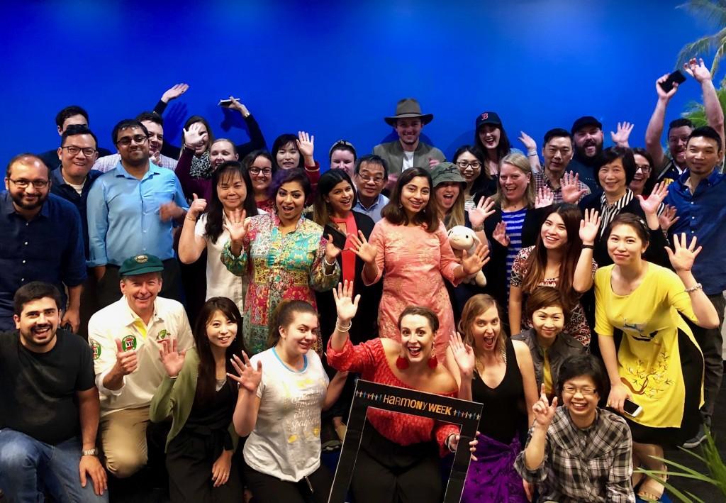 ETG staff Melbourne - Harmony Day 2