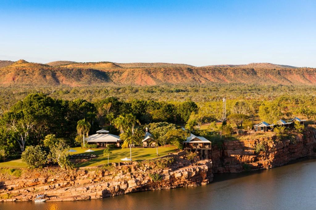 El Questro Homestead The Kimberley - Aerial