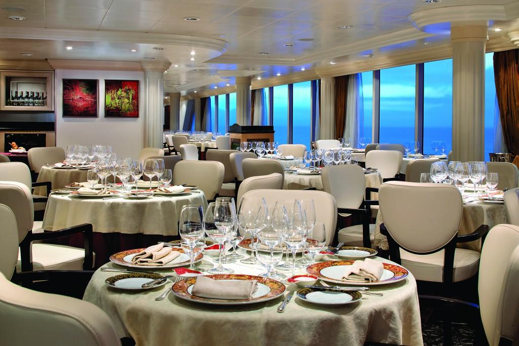 Toscana, the ship's iconic Italian restaurant