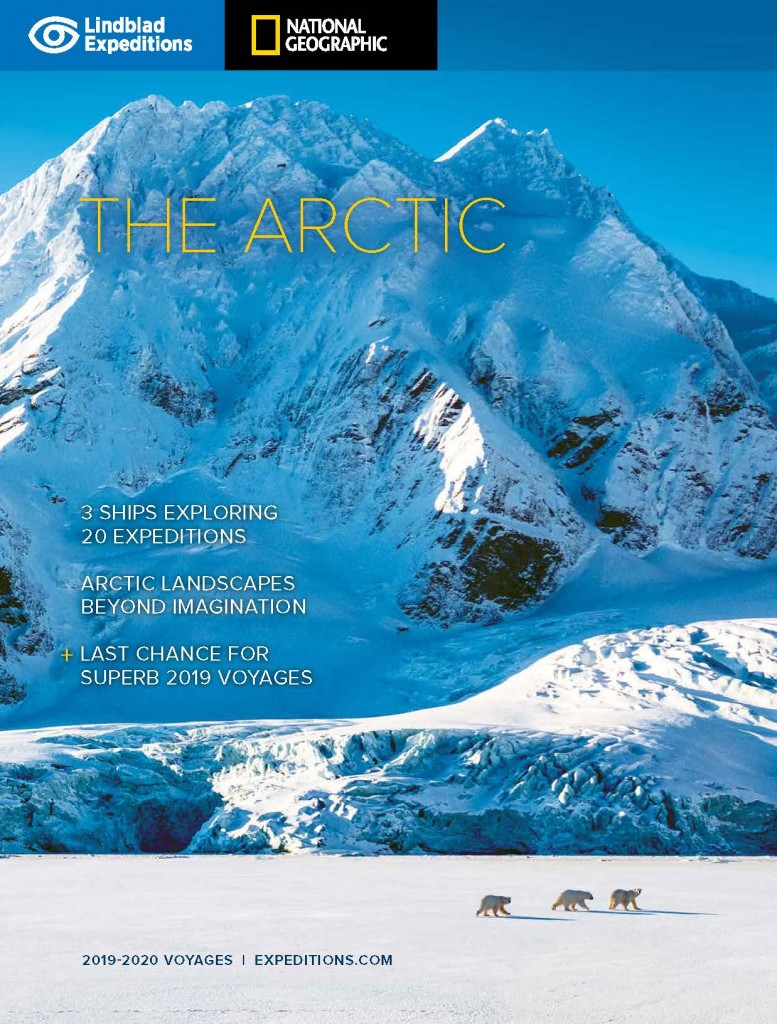 Lindblad Expeditions - The Arctic Calatogue