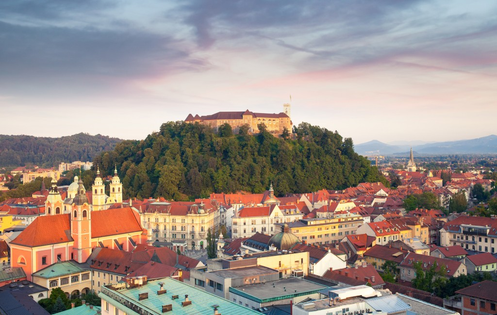 Ljubljana City, Slovenia