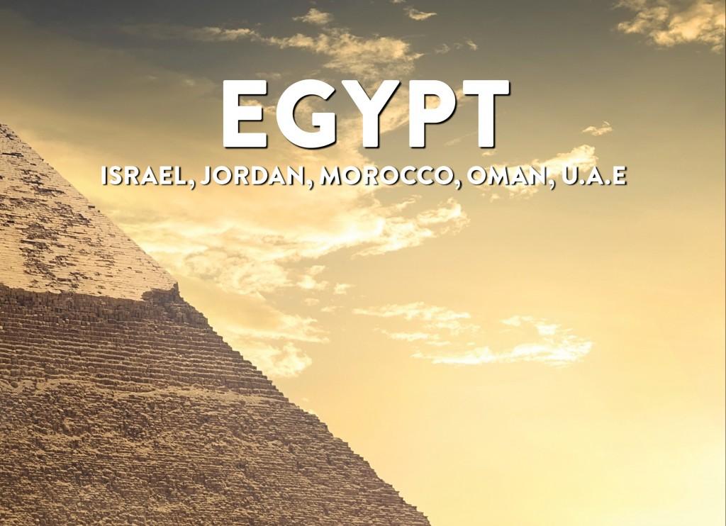 2019 Egypt Brochure Cover