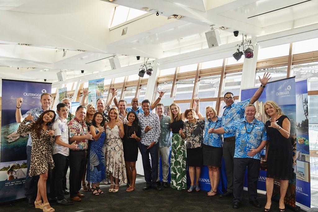 Outrigger Global Showcase Delegation