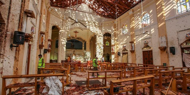 The industry and world leaders react to the Sri Lankan bombings, as death toll rises